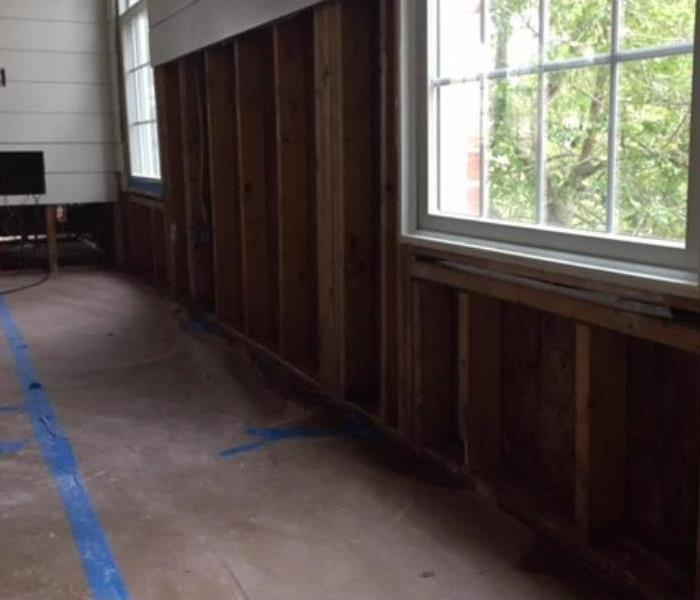 Mold remediation in a Residential Home After