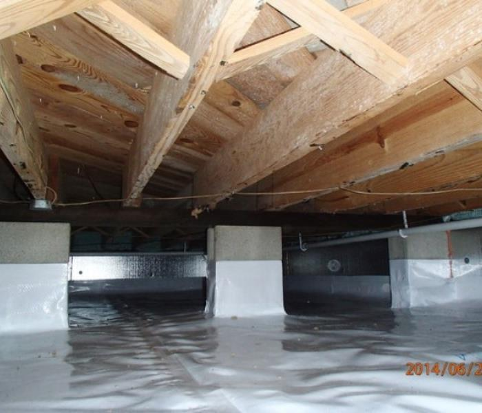 Crawl Space Encapsulation After