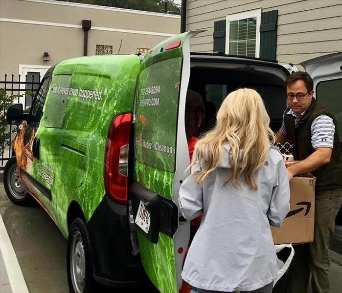 Why SERVPRO Christmas Coat Drive in Brunswick GA